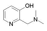 2-Dimethylaminomethyl-3-hydroxypyridine